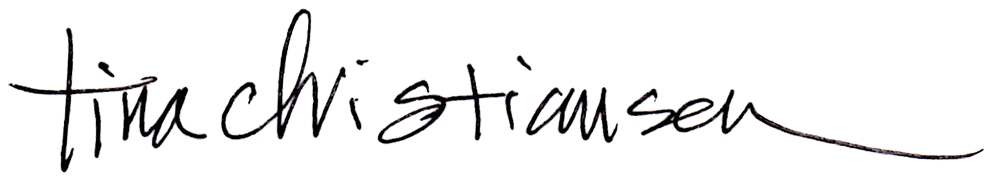 Tina Christiansen Signature