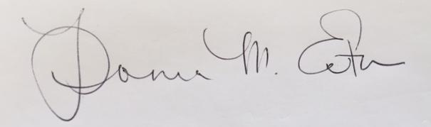 Donna  Eaton Signature