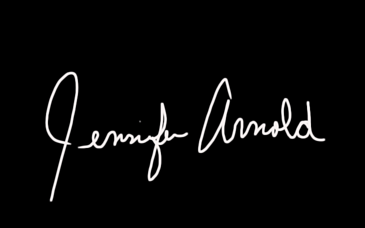 jennifer Arnold Signature