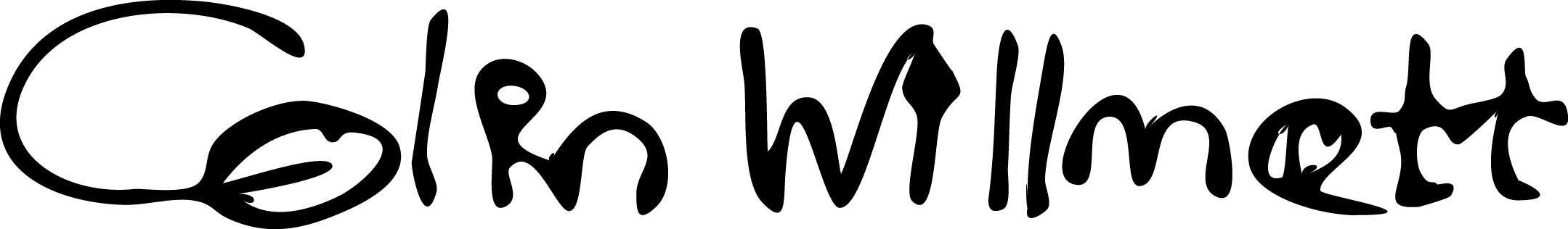 colin willmott Signature