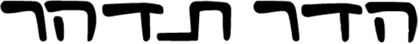 Hadar Tidhar Signature