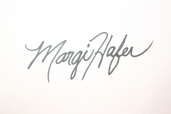 Margi Hafer Signature