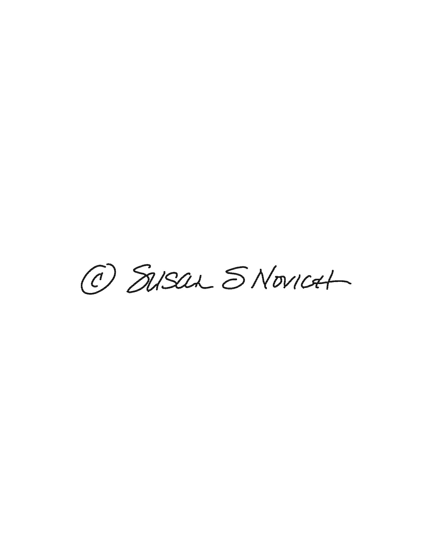 Susan Novich Signature