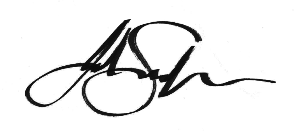 Julie Sneeden Signature
