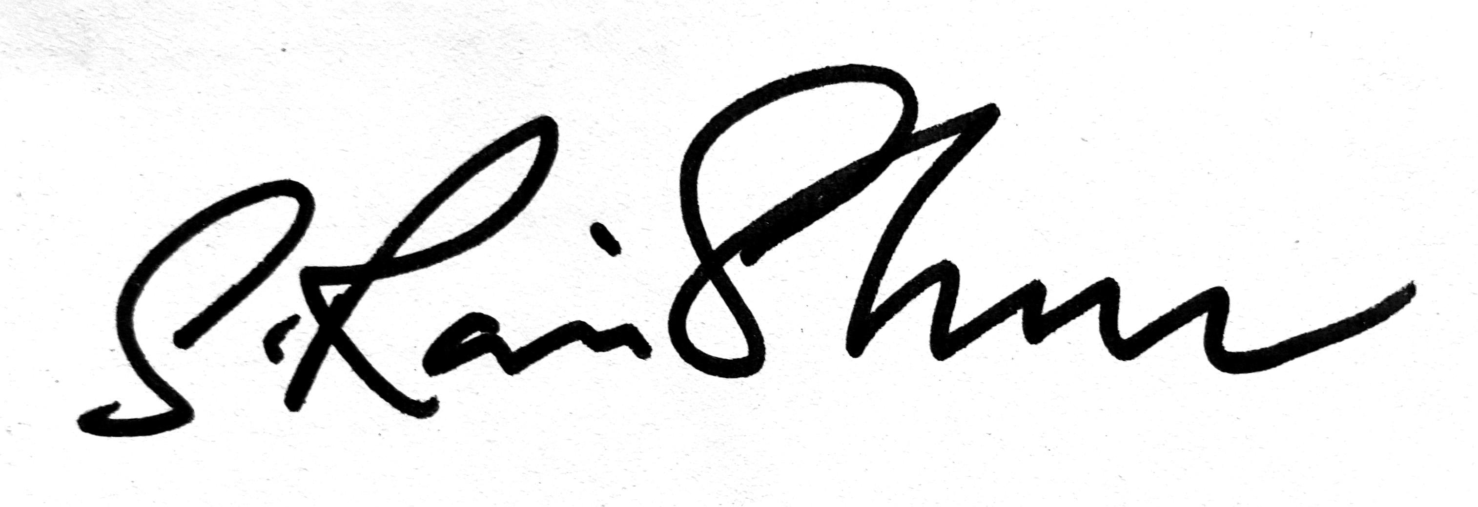 Ravi Shankar Subramaniam Signature