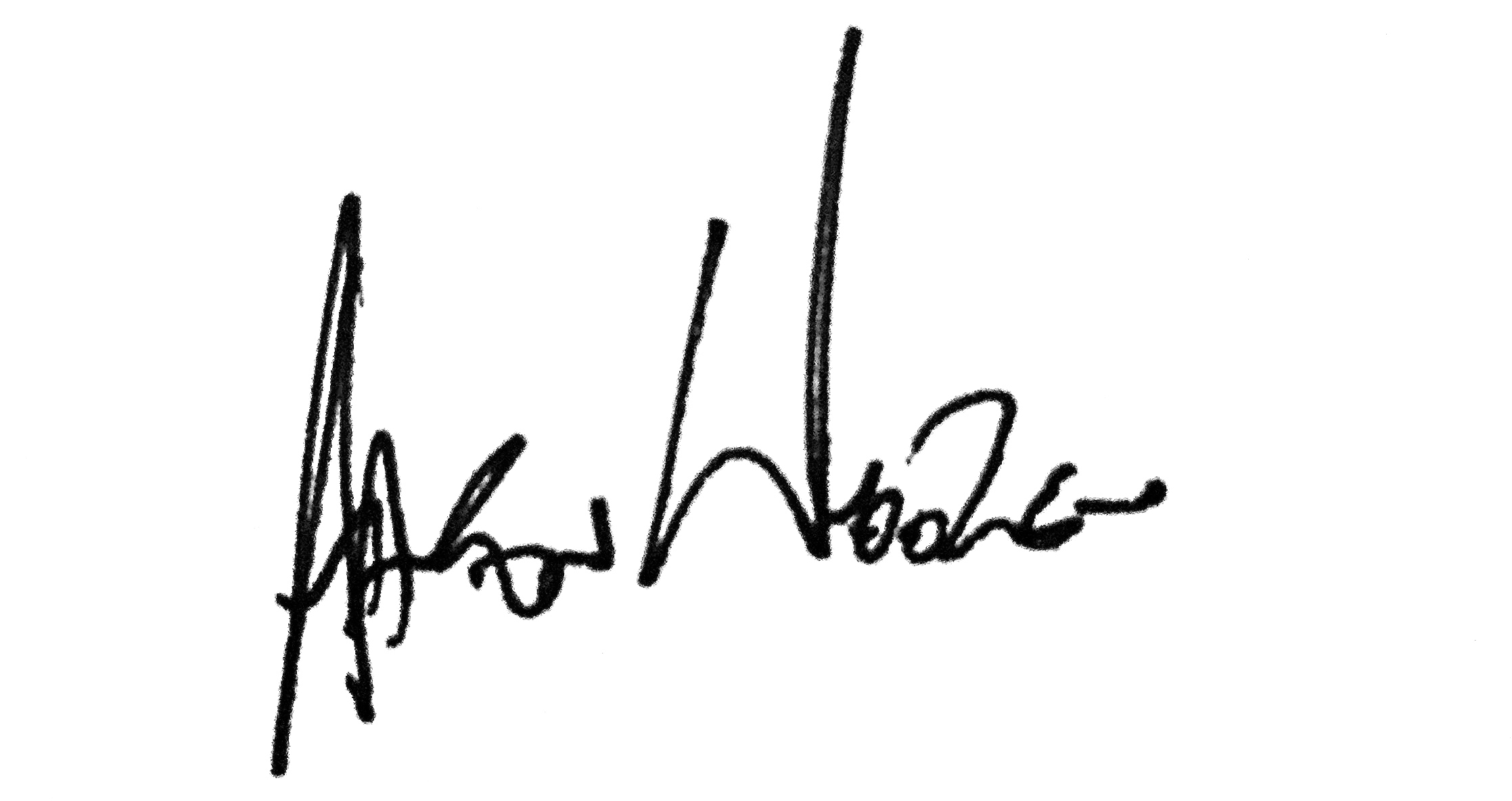 AAron wooten Signature