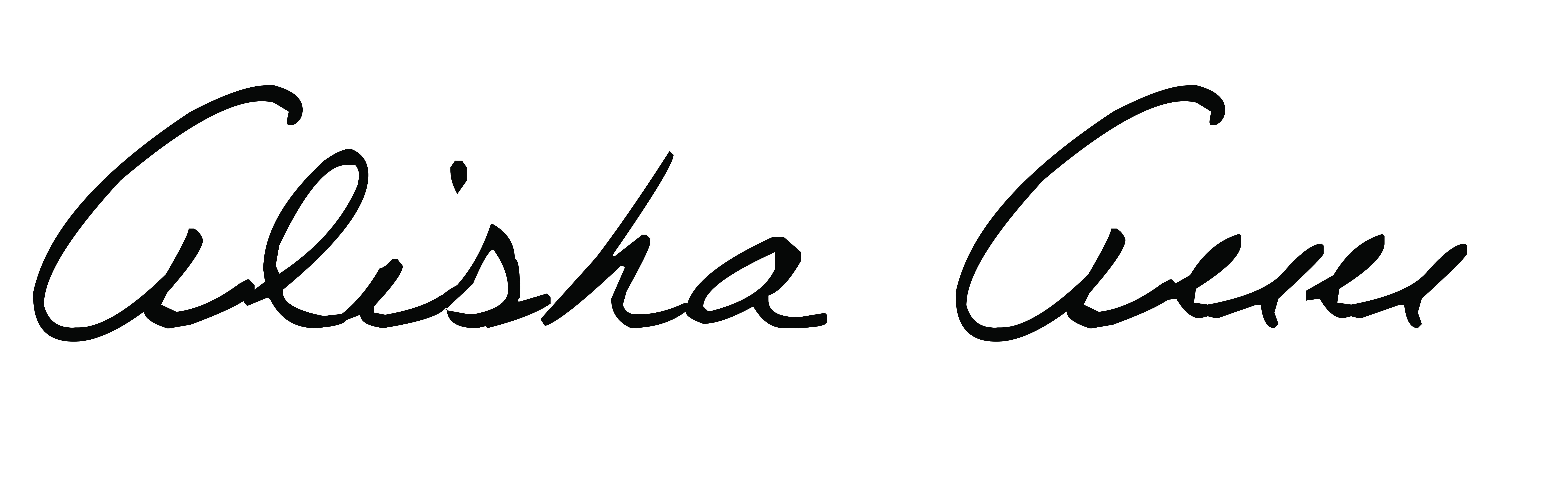 Alisha Boguslowski Signature