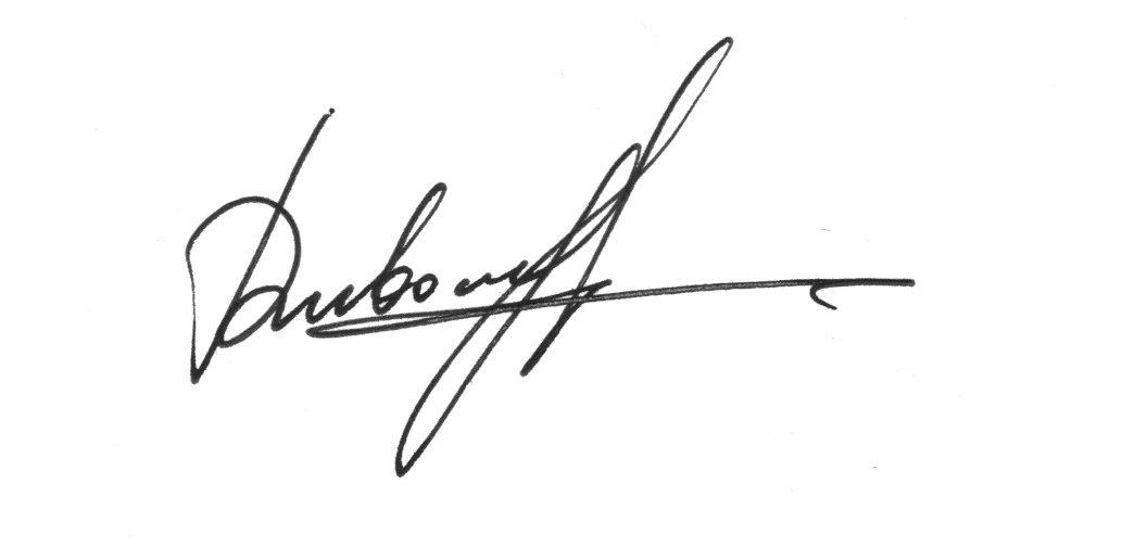 Julia Dubovyk Signature