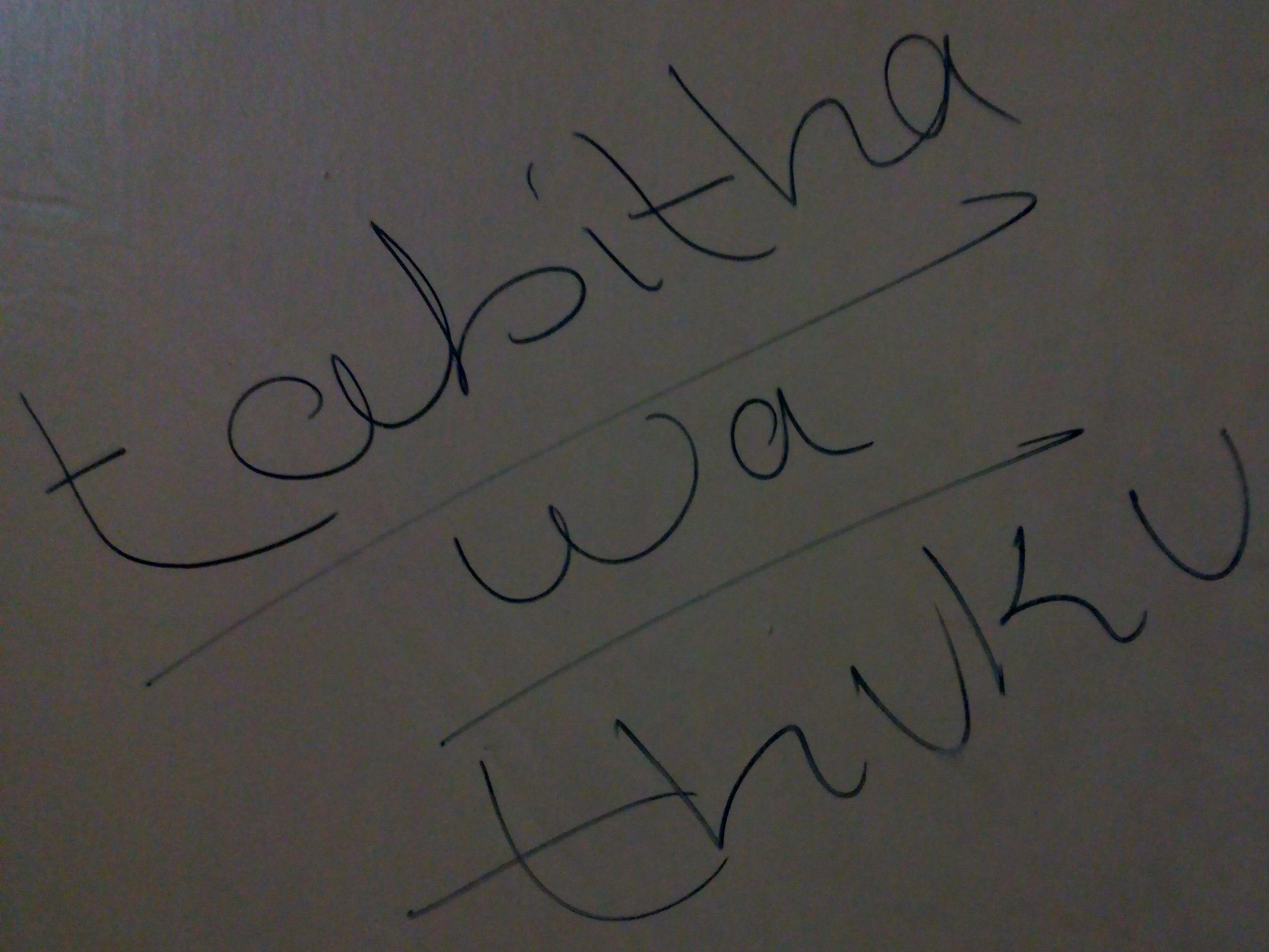 Tabitha Wa thuku Signature