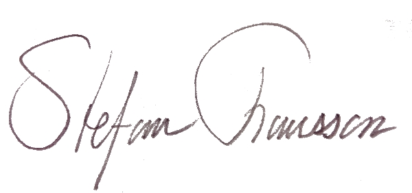 Stefan Fransson Signature