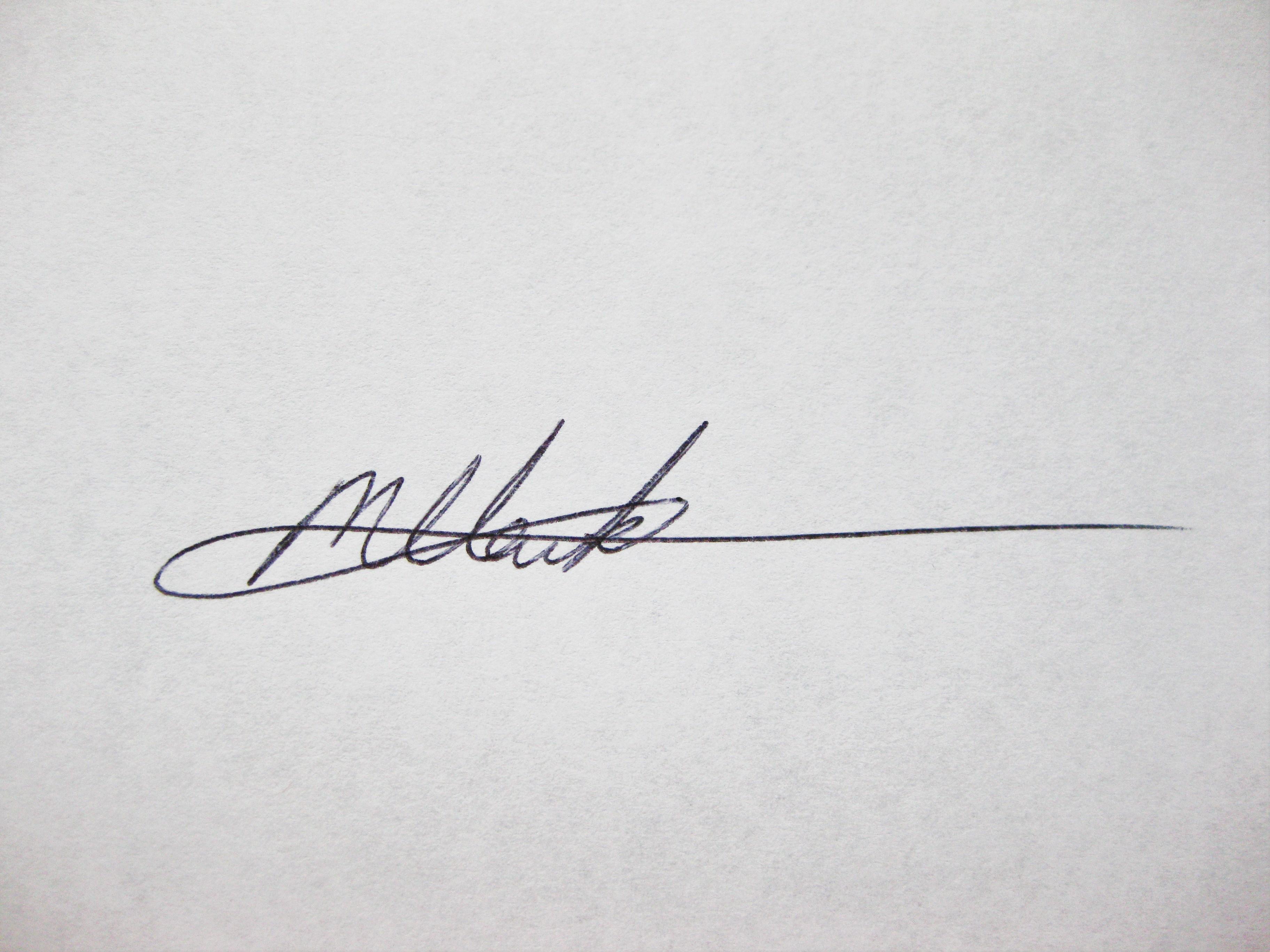 Melissa H. Clark Signature