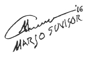 Marjo Suvisor Signature