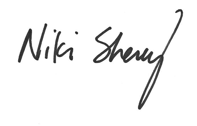 Niki Sherey Signature