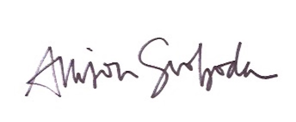 Allison Svoboda Signature