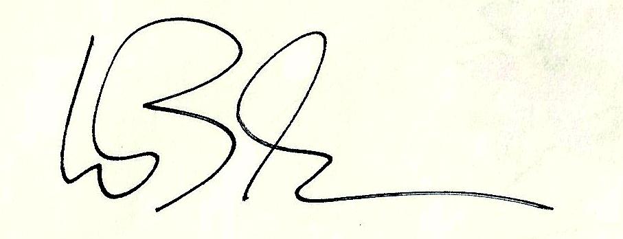 Wilhelm Bleckmann Signature