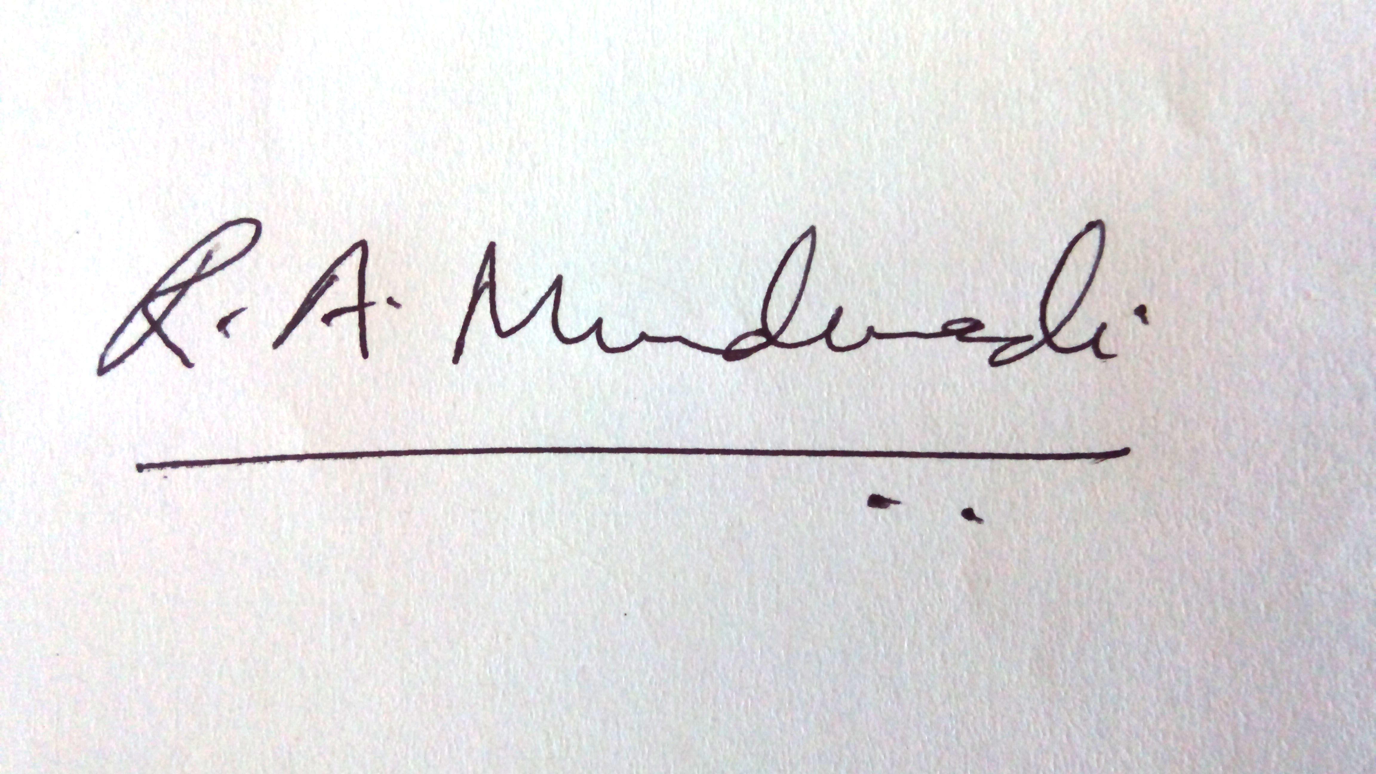 Rizwana Mundewadi Signature