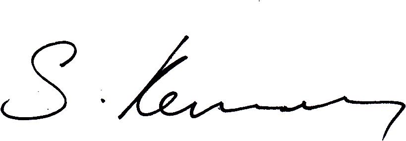 Simon Kennedy Signature