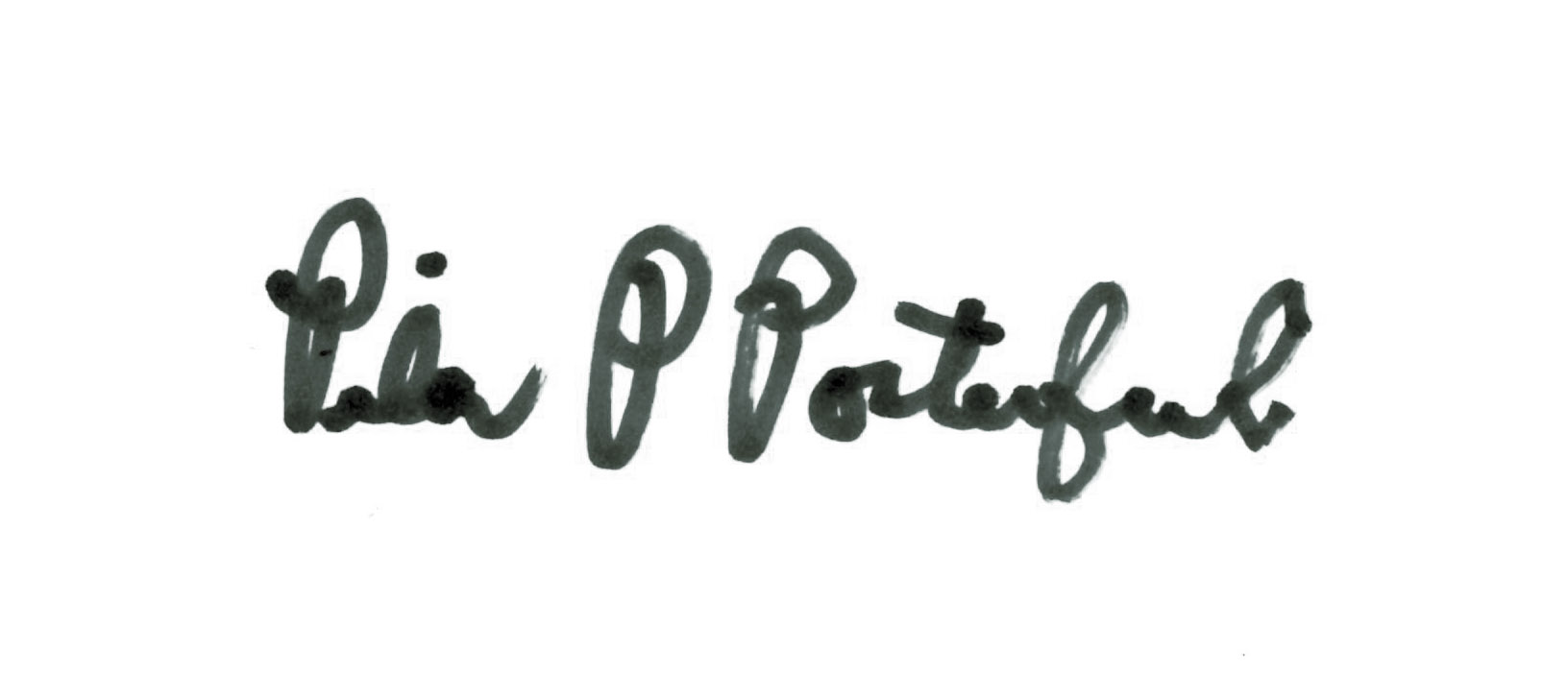 Pilar Porterfield Signature