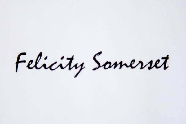Felicity Somerset Signature