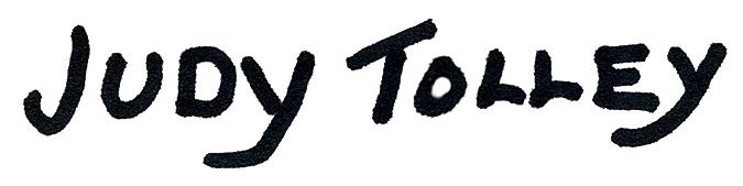 Judy Tolley Signature