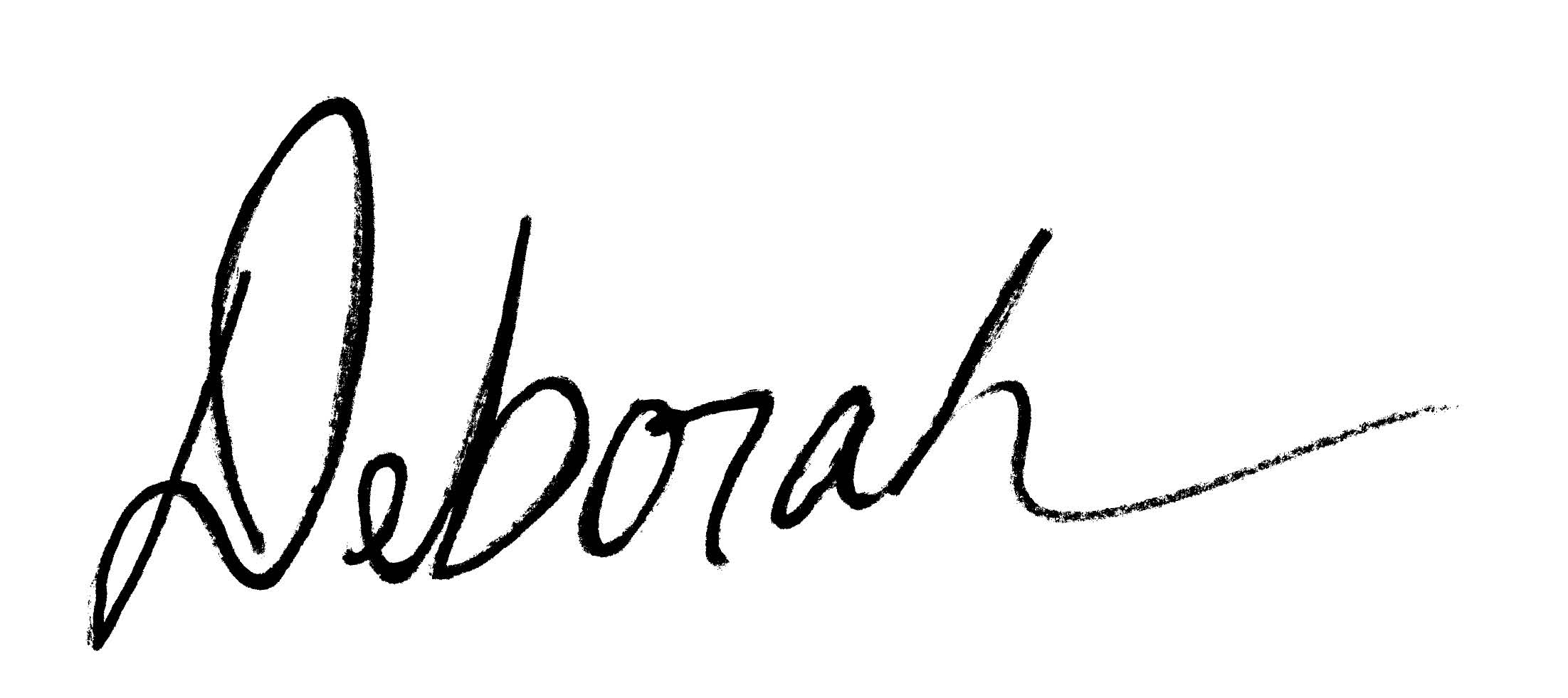 Deborah Little Bear Signature