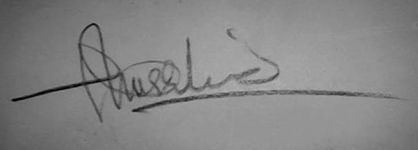 Khurshid anwar khattak Signature