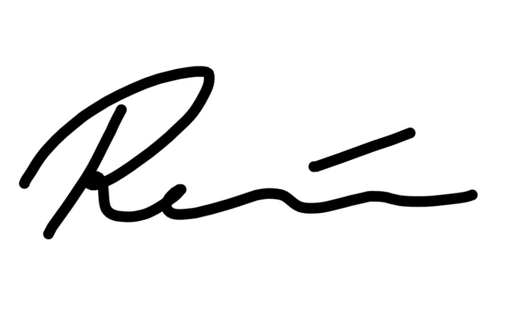 Renee Back Signature