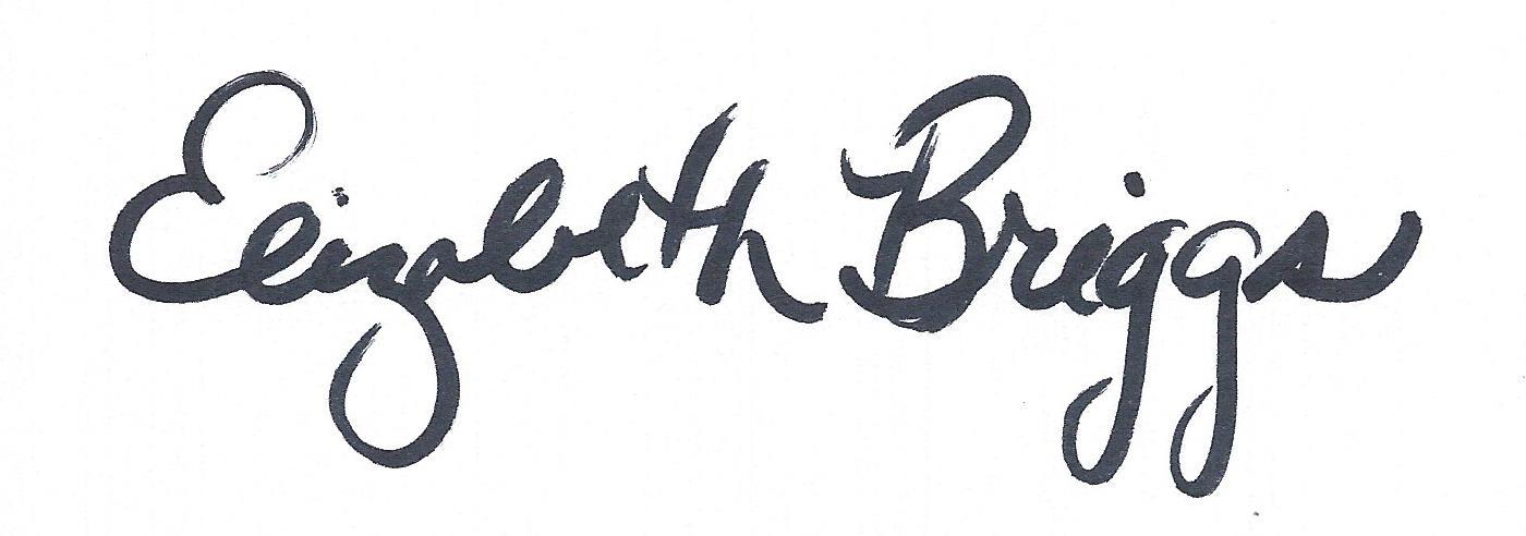Elizabeth Briggs Signature