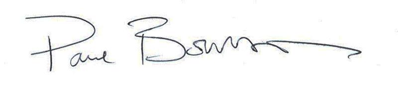 Paul Boultbee Signature