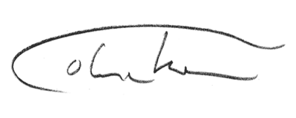 Colin Throm Signature