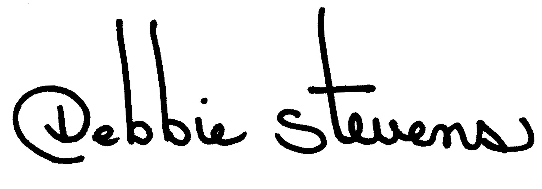 Debbie Stevens Signature