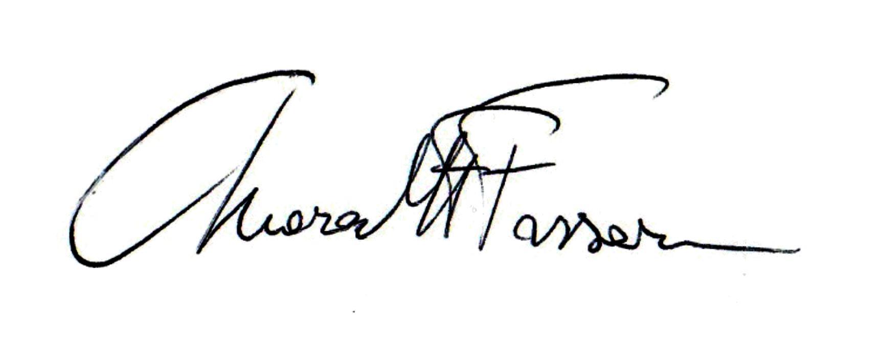 Chiara Fassari Signature