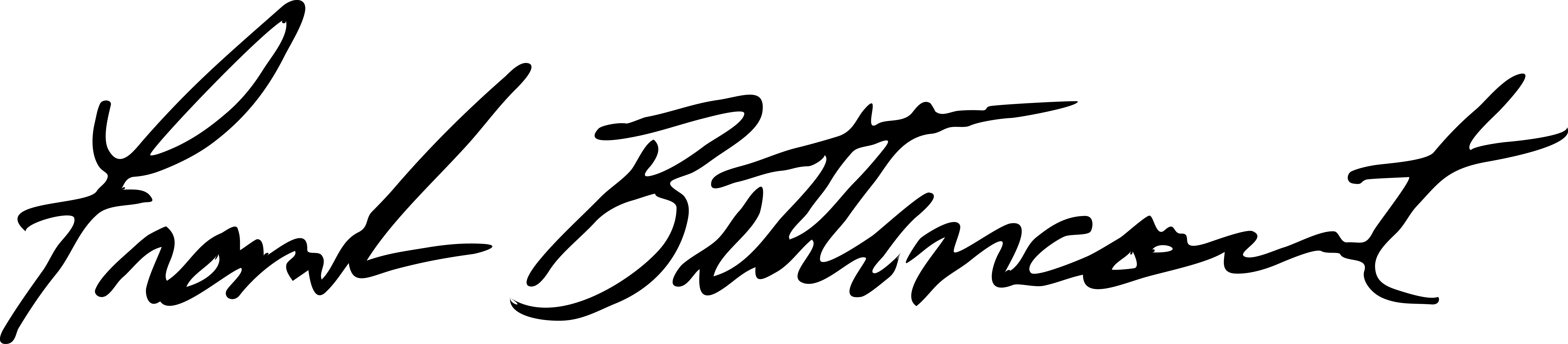 Frank Bettencourt Signature