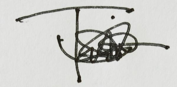 Thomas Miller Signature