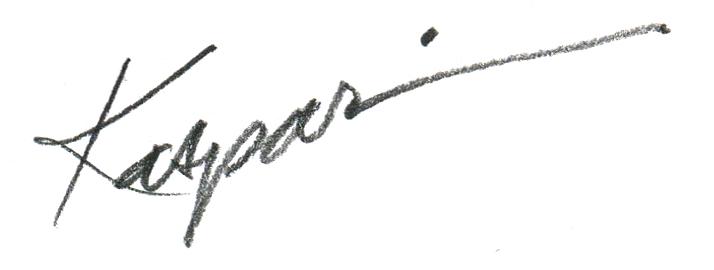 Debby Kaspari Signature