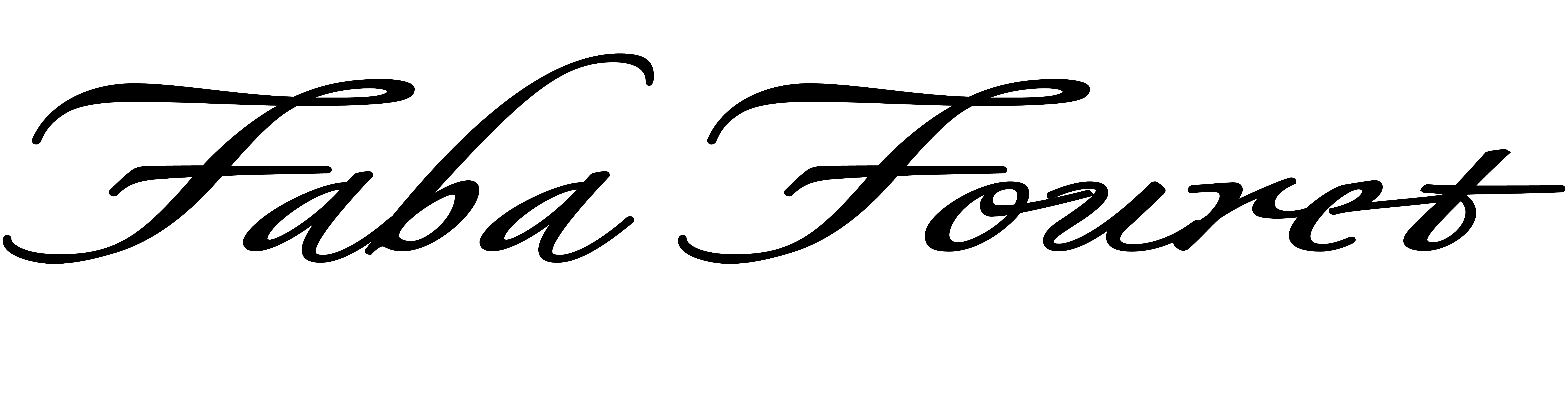 faba fouret Signature