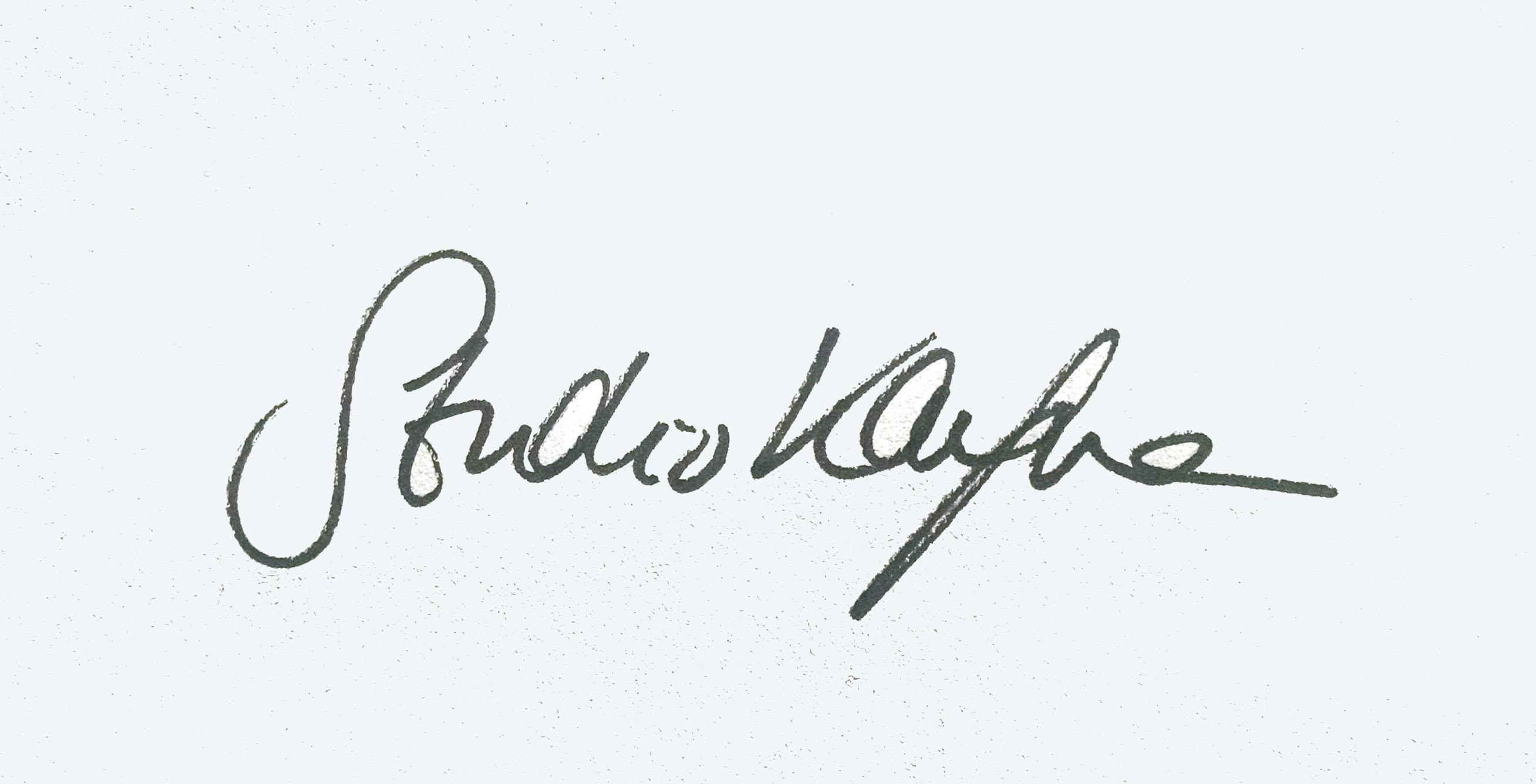 Emma Kaufmann Signature