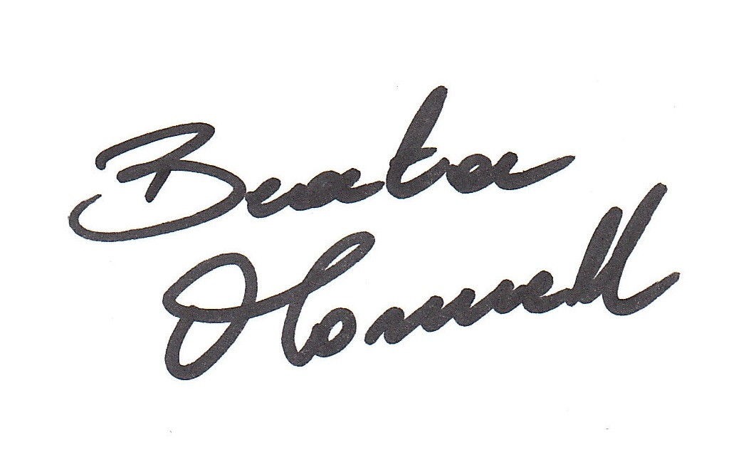 Beata O'Connell Signature