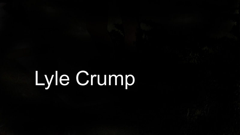 Lyle Crump Signature