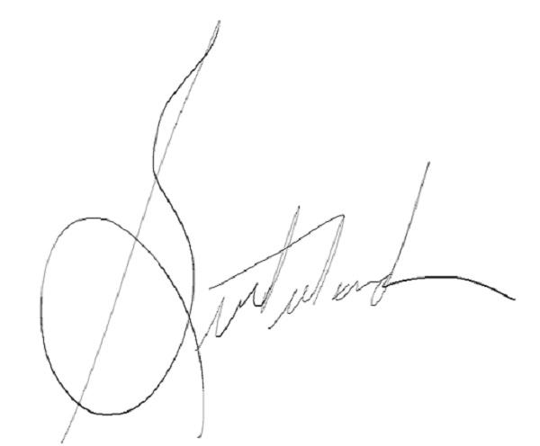 Timothy Sutherland Signature
