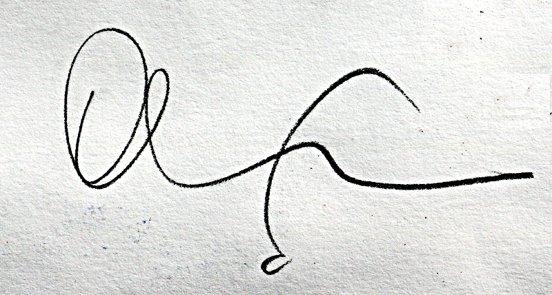 Oliver Loveday Signature