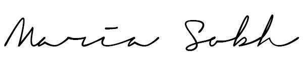 Maria Sobh Signature