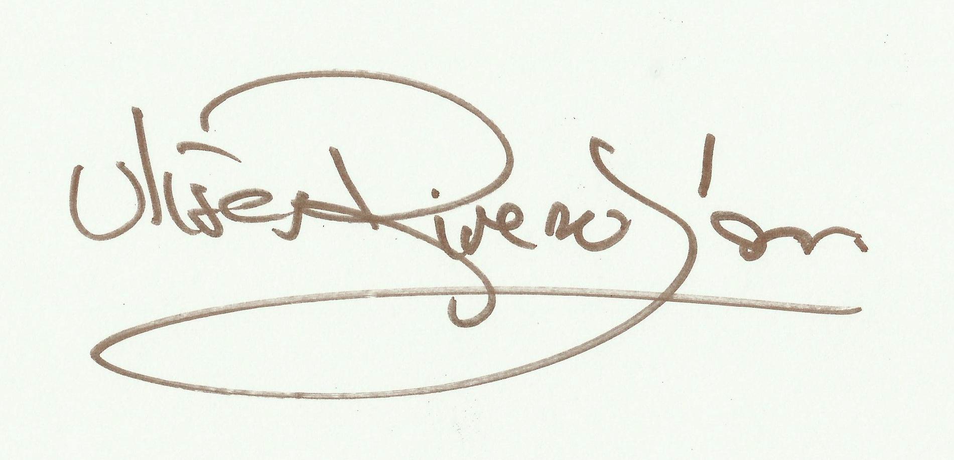 Ulises Rivero Signature