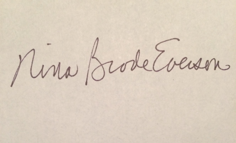 Nina Everson Signature