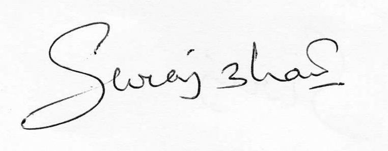 SURAJKUMAR BHATT Signature