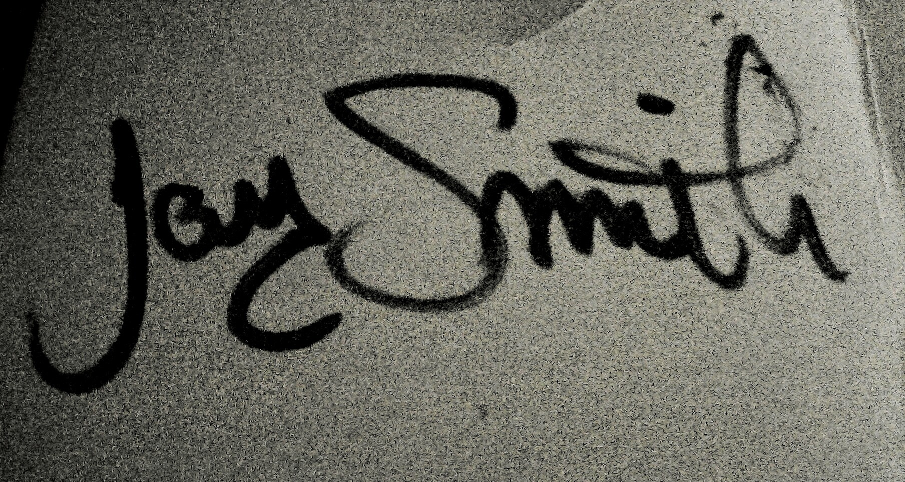 Jay Smith Signature
