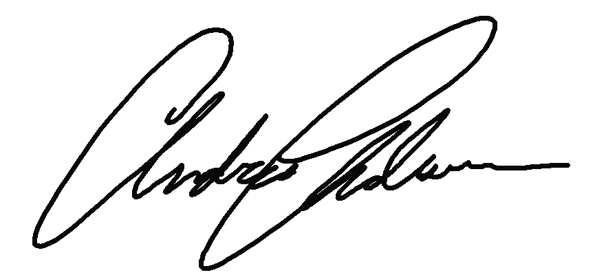 Andrea Anderson Signature