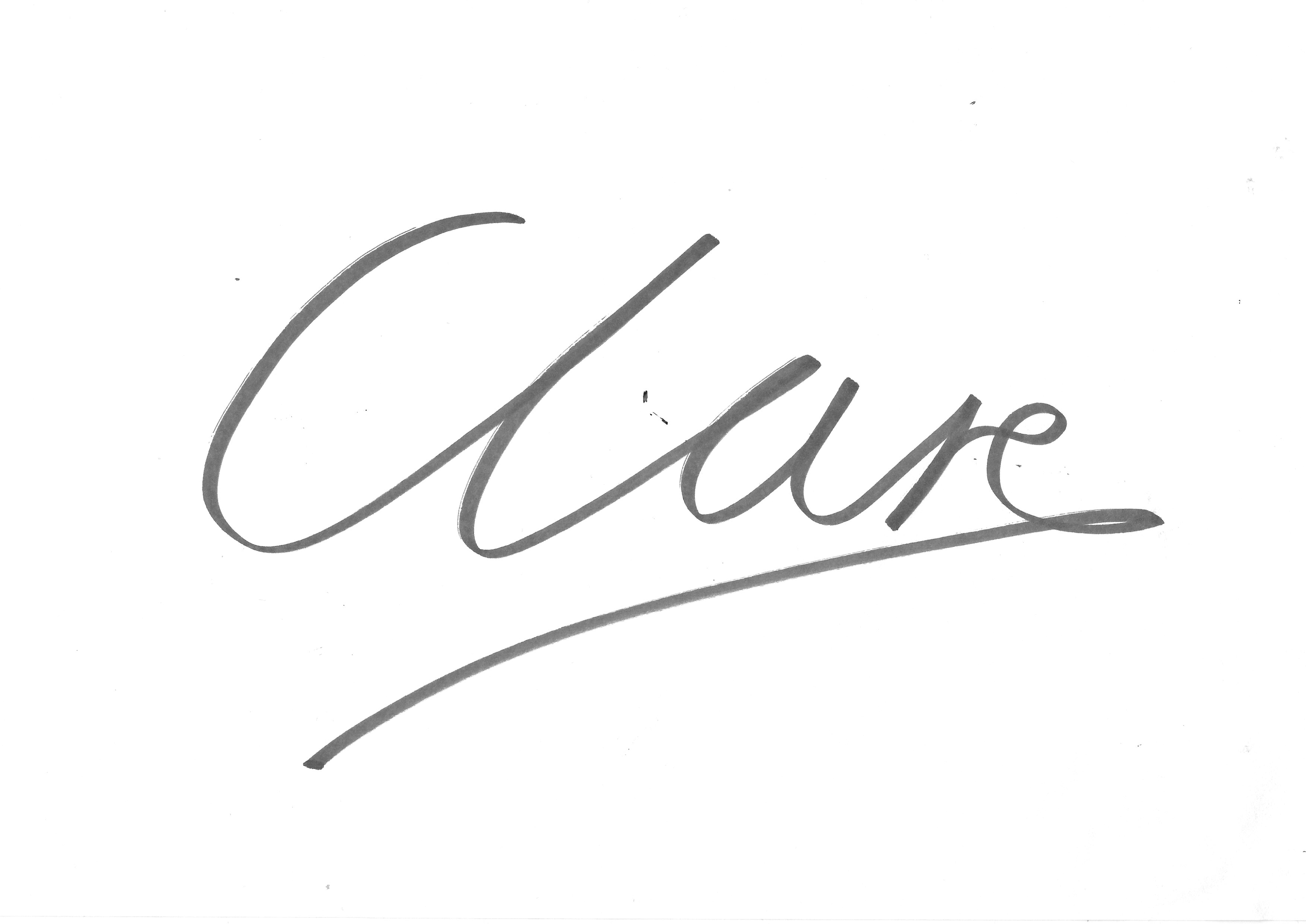 Clare Windass Signature