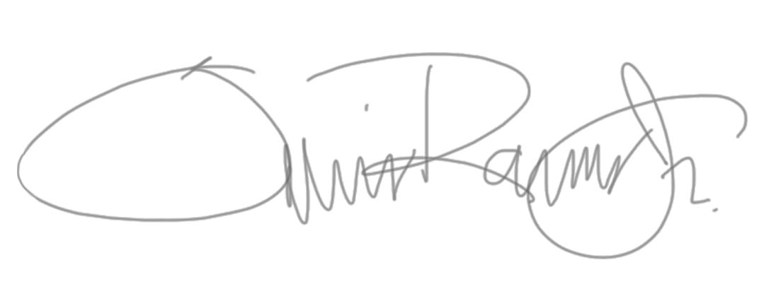 Luis Ramos JR Signature