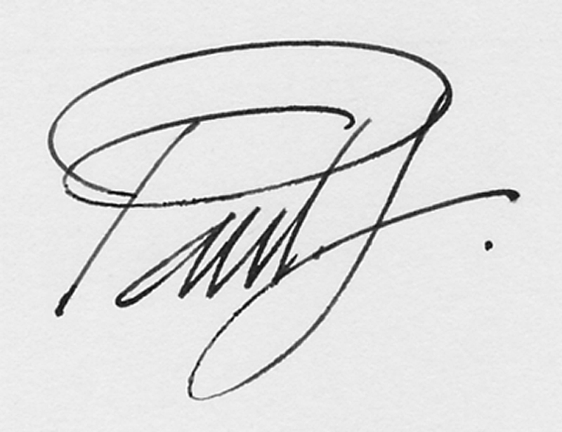 paul freeman Signature